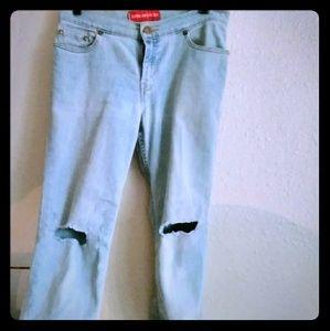 518 Levis Vintage! Distressed!